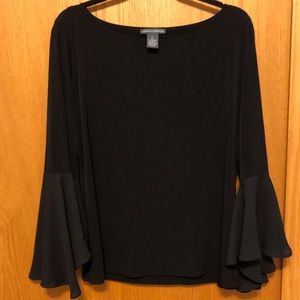Long Sleeve with Flared/Flutter Sleeve